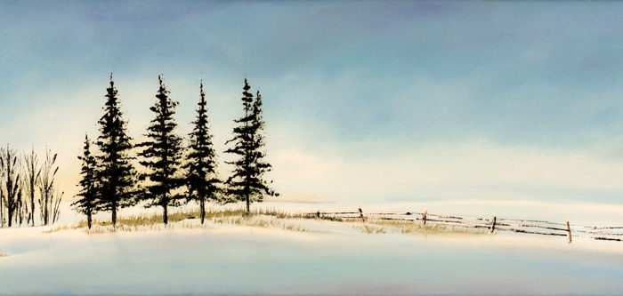 A winter Afternoon (sold)