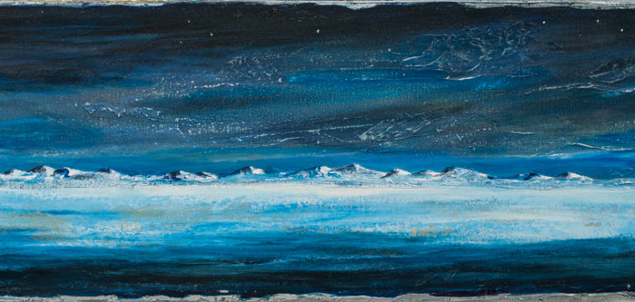 Cold Winter Night, (SOLD)
