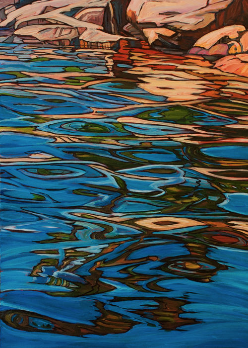 Jack Pine Reflection – Sold