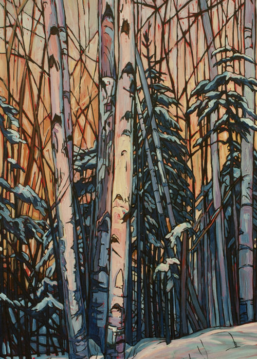 La Rose Birches – Sold