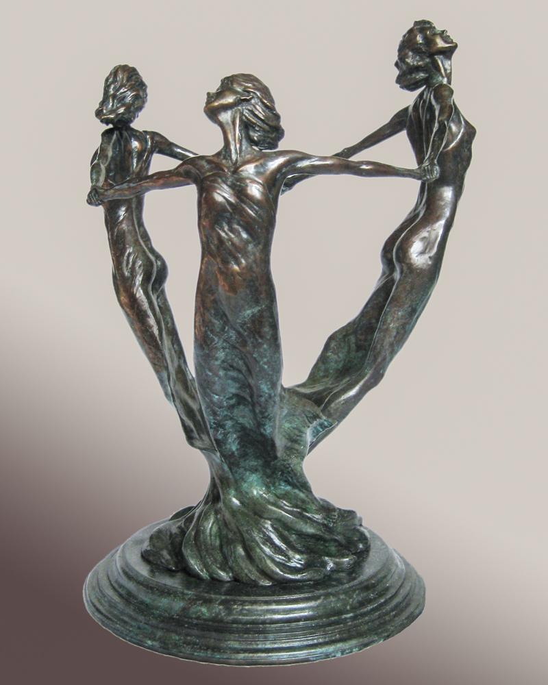 bronze sculpture by Janet K. MacKay