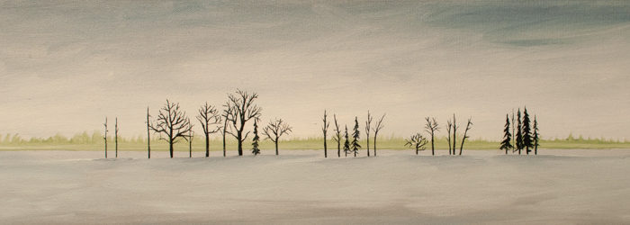 Multicultural Tree Line, (SOLD)