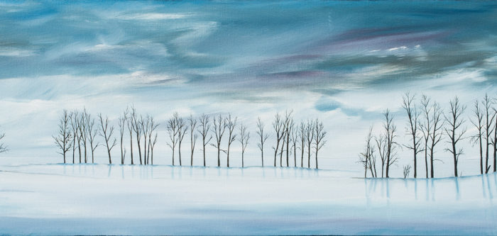 Naked in Winter (sold)