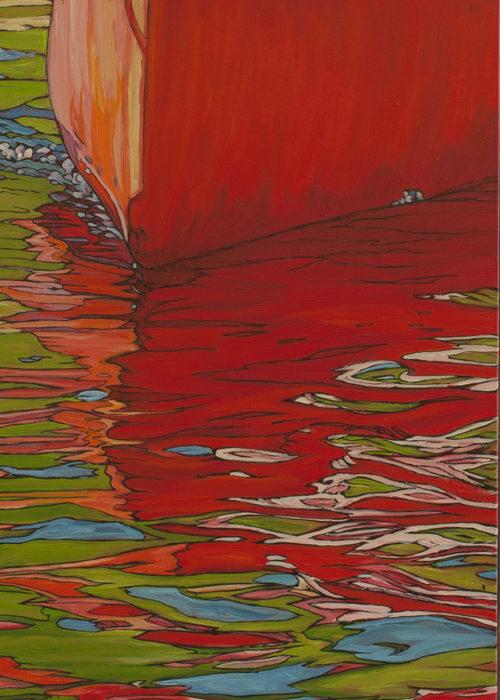 Orange Canoe