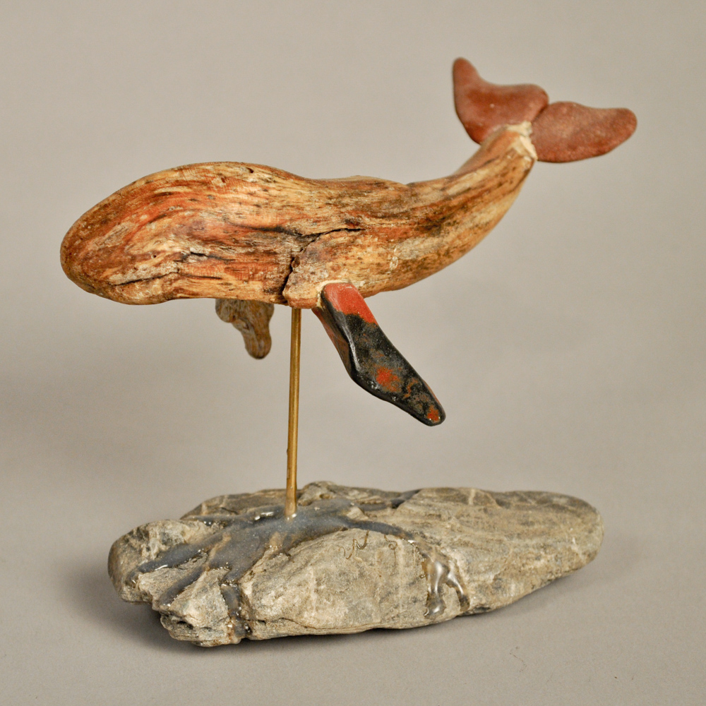 Original bronze sculpture One Person by Mitchell Webster