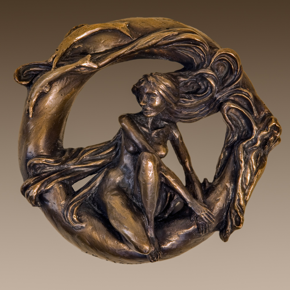 bronze sculpture by Janet K. MacKay