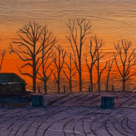 Rural Sunrise (Sold)