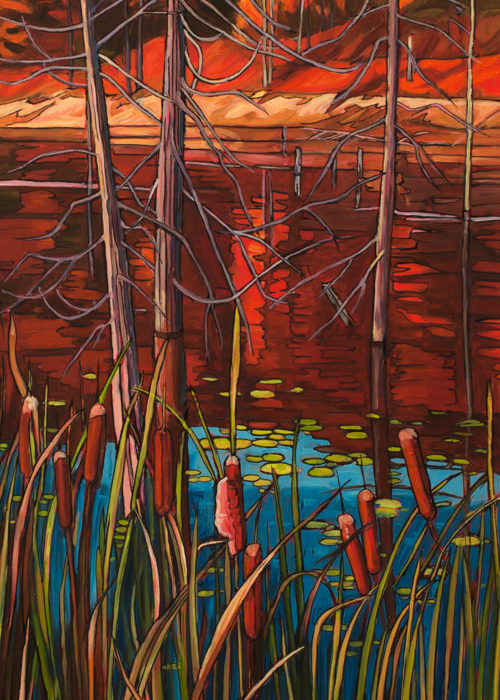 Cat Tails – Sold