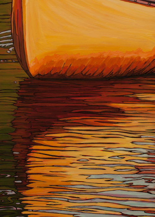 Sunlit Paddle