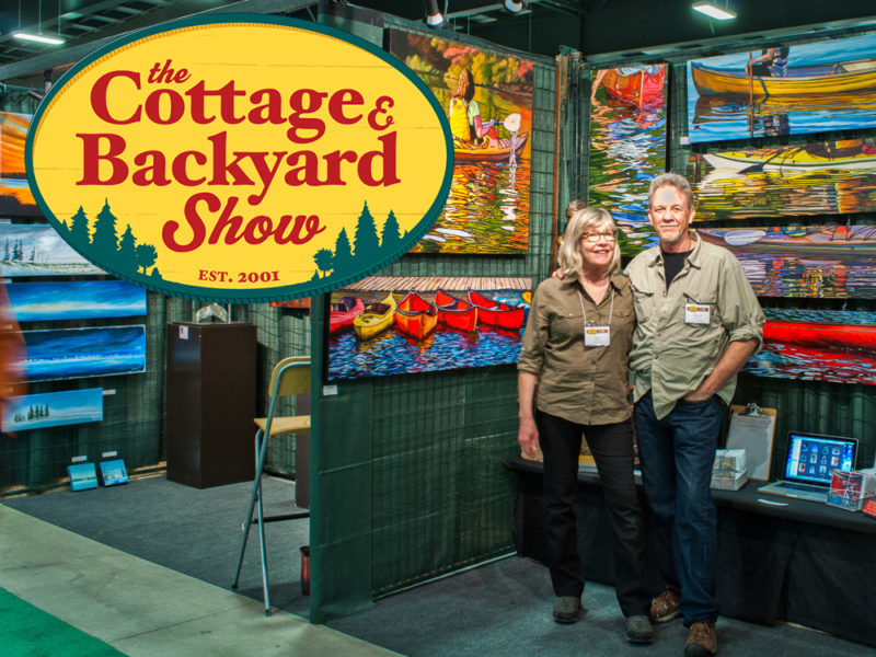The Cottage and Backyard Show, March 3rd – 5th, 2017