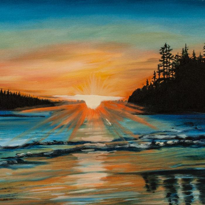 MacKenzie Beach Sunset