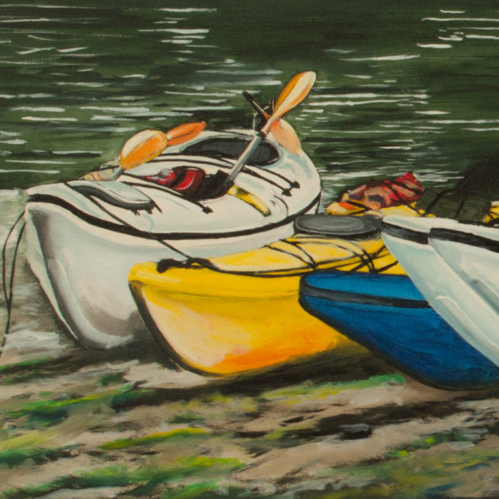 Meares Island Excursion, (SOLD)
