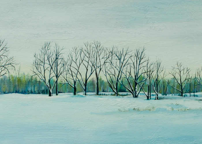 Winter's Still (Sold)