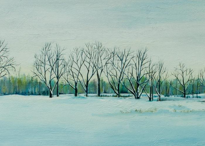 Winter's Still (Sold)