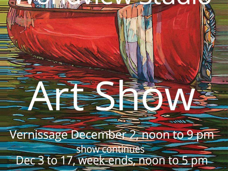"""""""A Gift Of Art"""" Show, December 2 -17 , 2017"""
