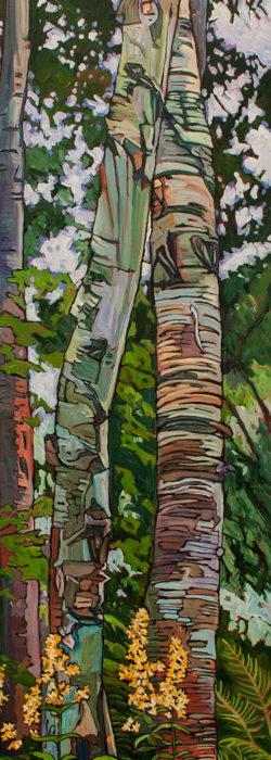 Tango Birches – Sold
