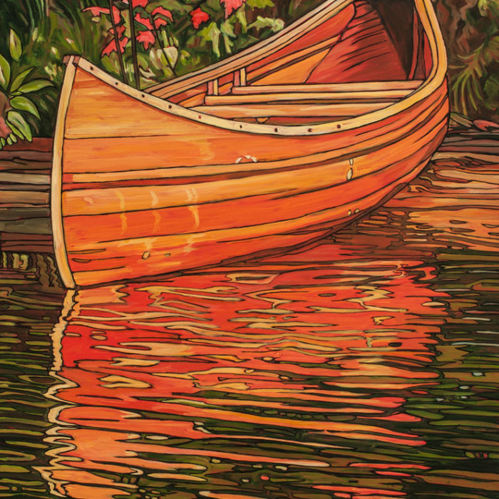 Algonquin Canoe -Sold