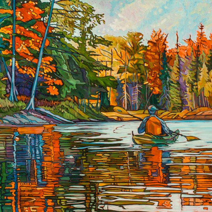 Autumn Paddle – Sold