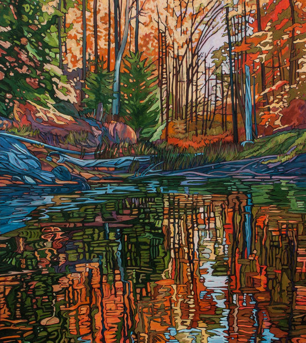 Autumn Pond 1 – Sold