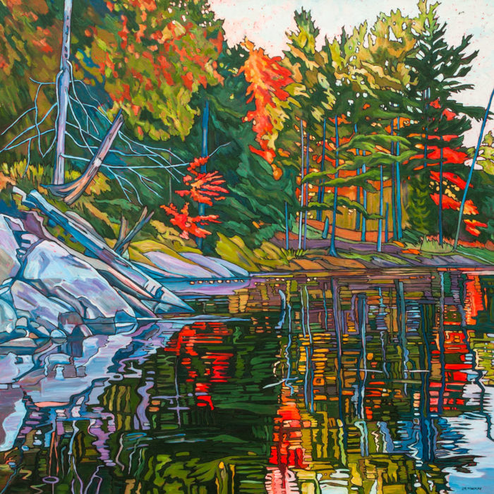 Autumn Pond 2 – Sold