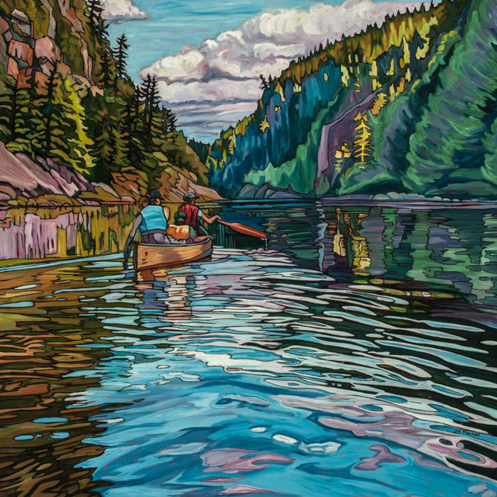Barron Canyon Paddle – Sold
