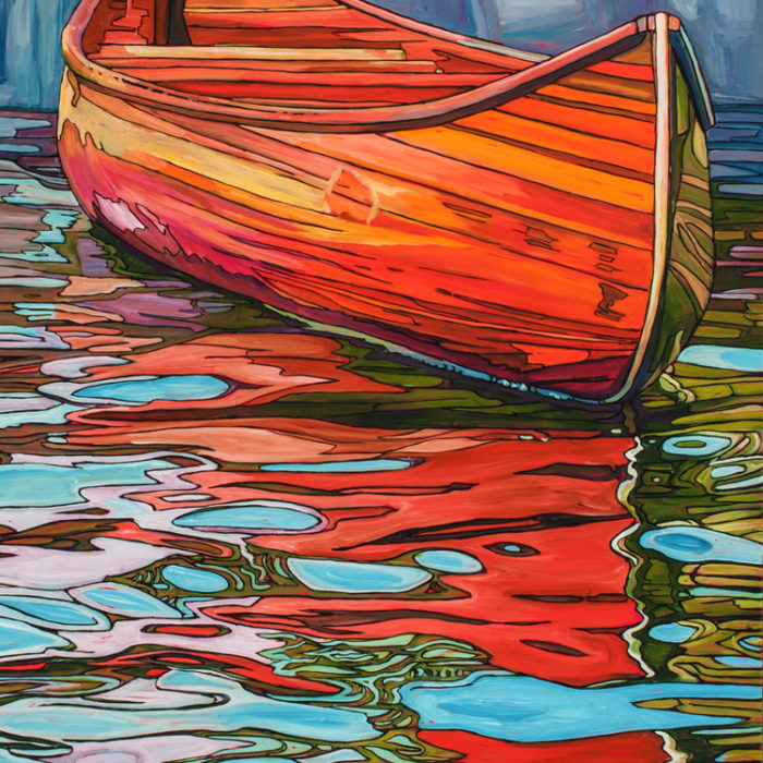 Fred's Canoe – SOLD