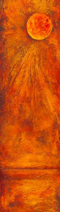 Harvest Moon on Orange 4
