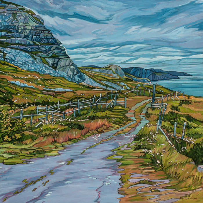 Path by the Ocean – Newfoundland – SOLD