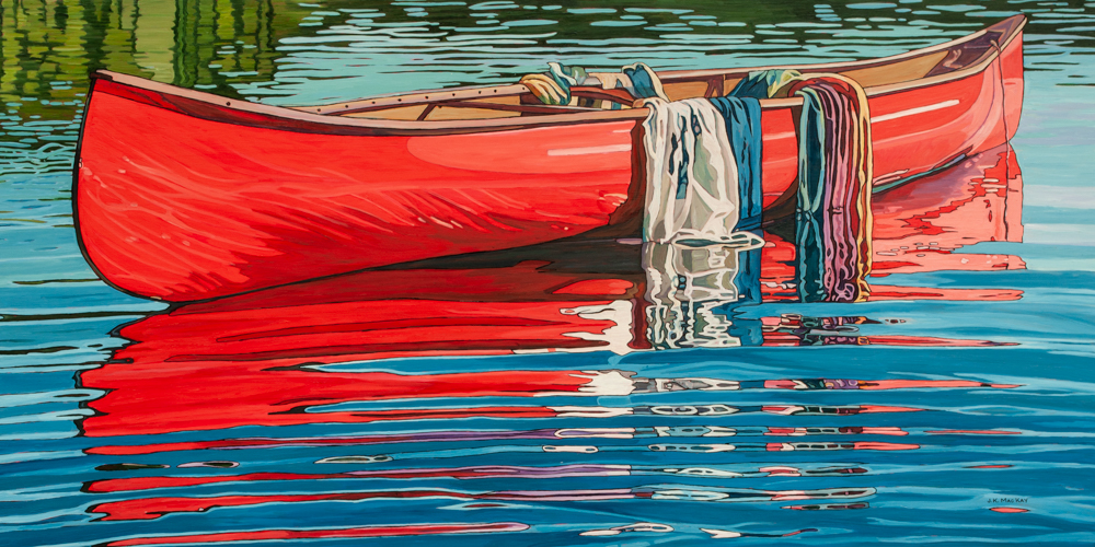 """Oil on canvas painting 30"""" x 60"""""""