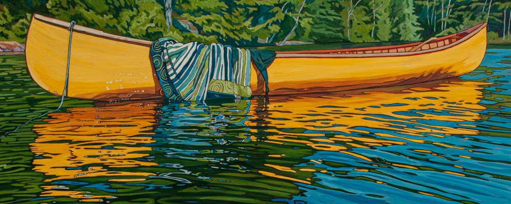 """Oil on canvas painting 24"""" x 60"""""""