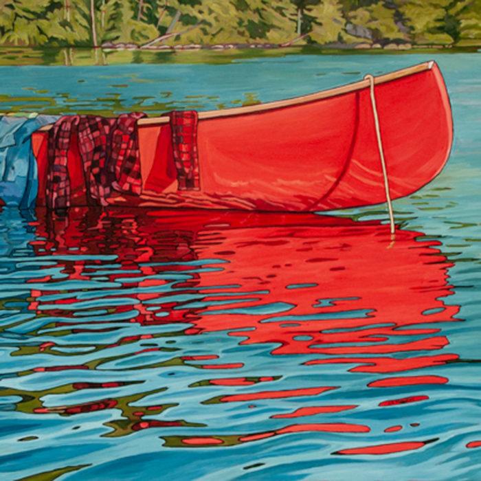 Rebecca's Canoe – Sold